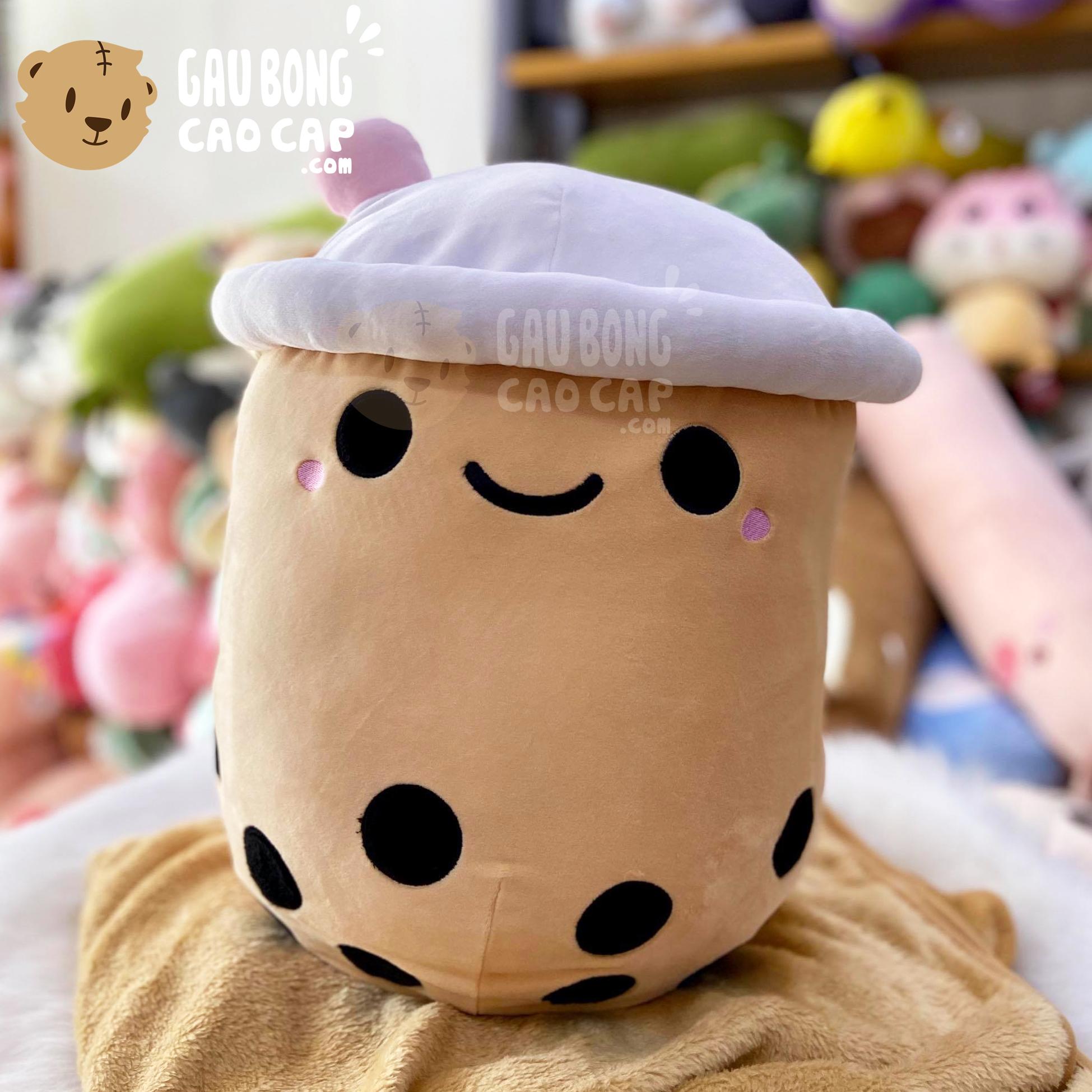 Gối mền Gấu Bông Trà Sữa baby