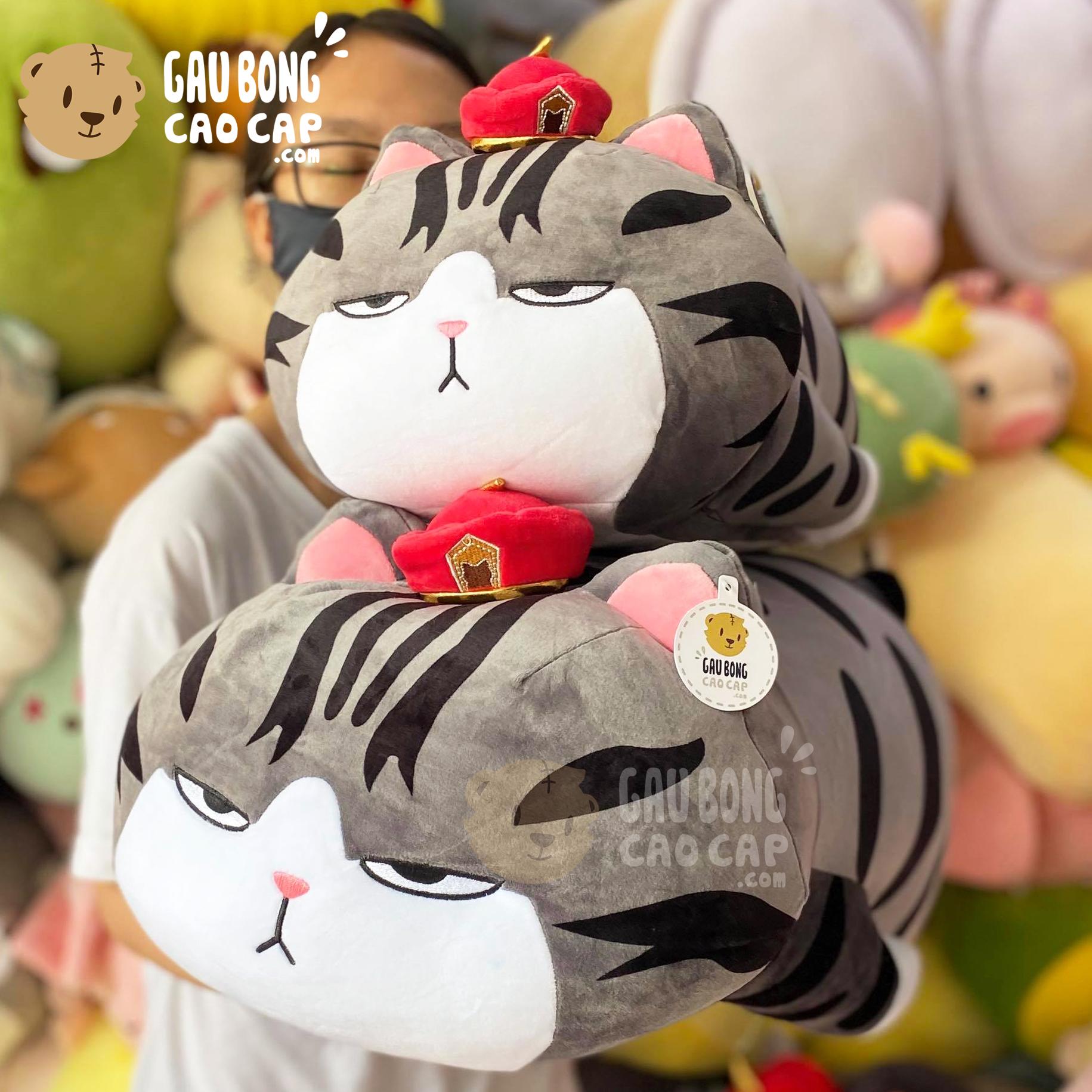 Mèo Bông Hoàng Thượng gối ôm dài