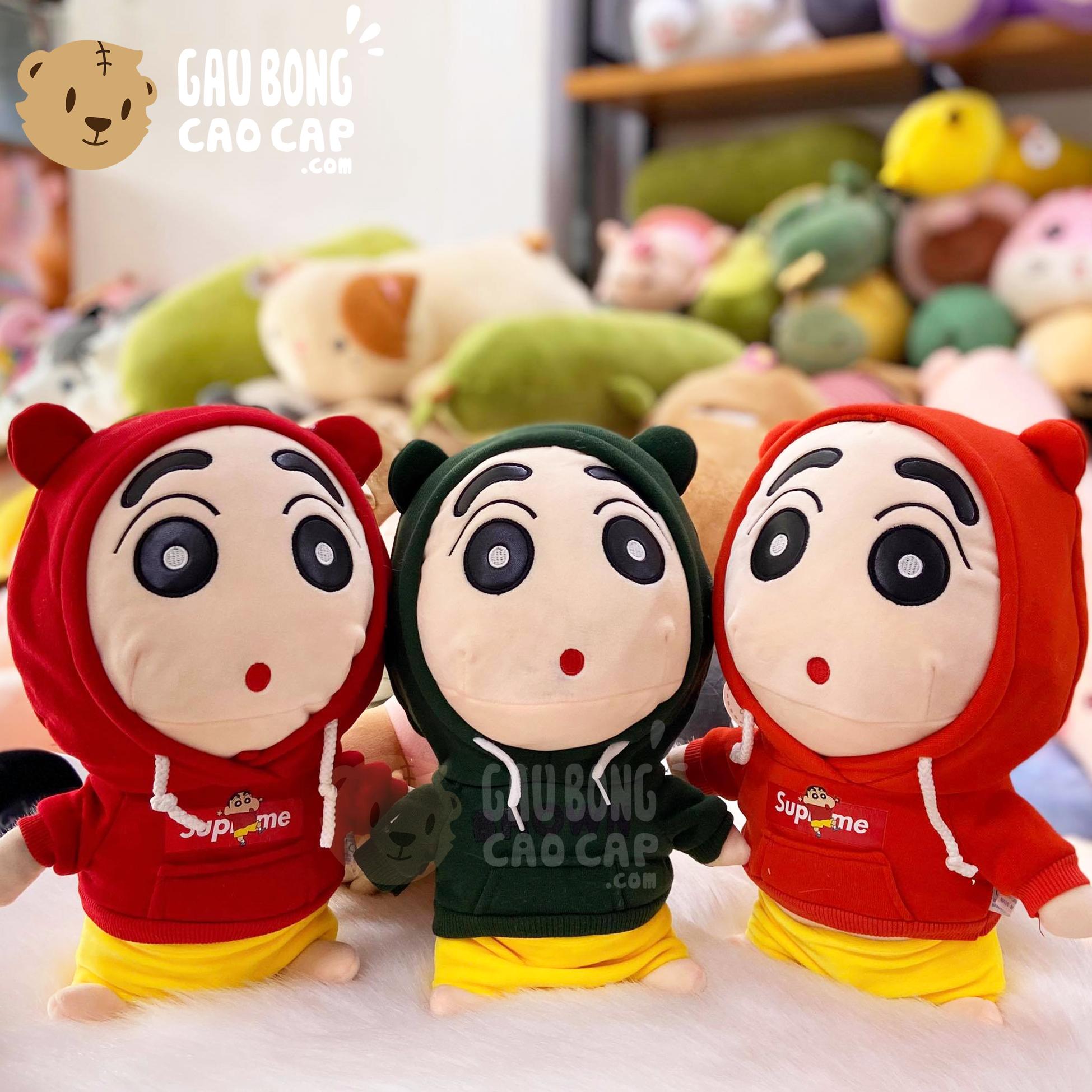 Gấu Bông SHIN mặc áo Hoodie size nhỏ