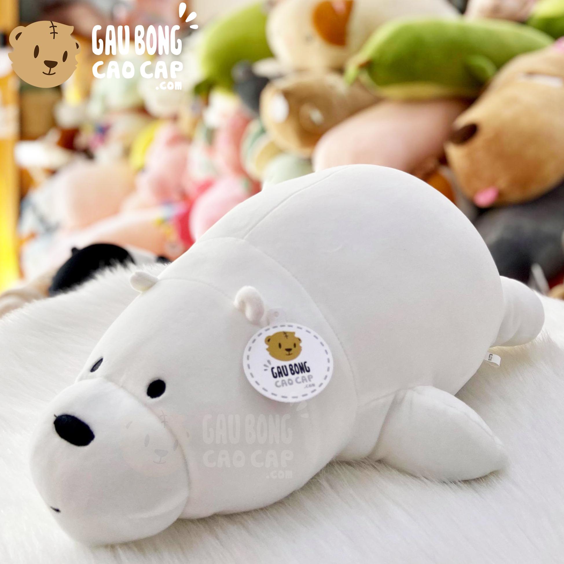 Gấu Bông Ice Bear - Gấu Bông We Bare Bear