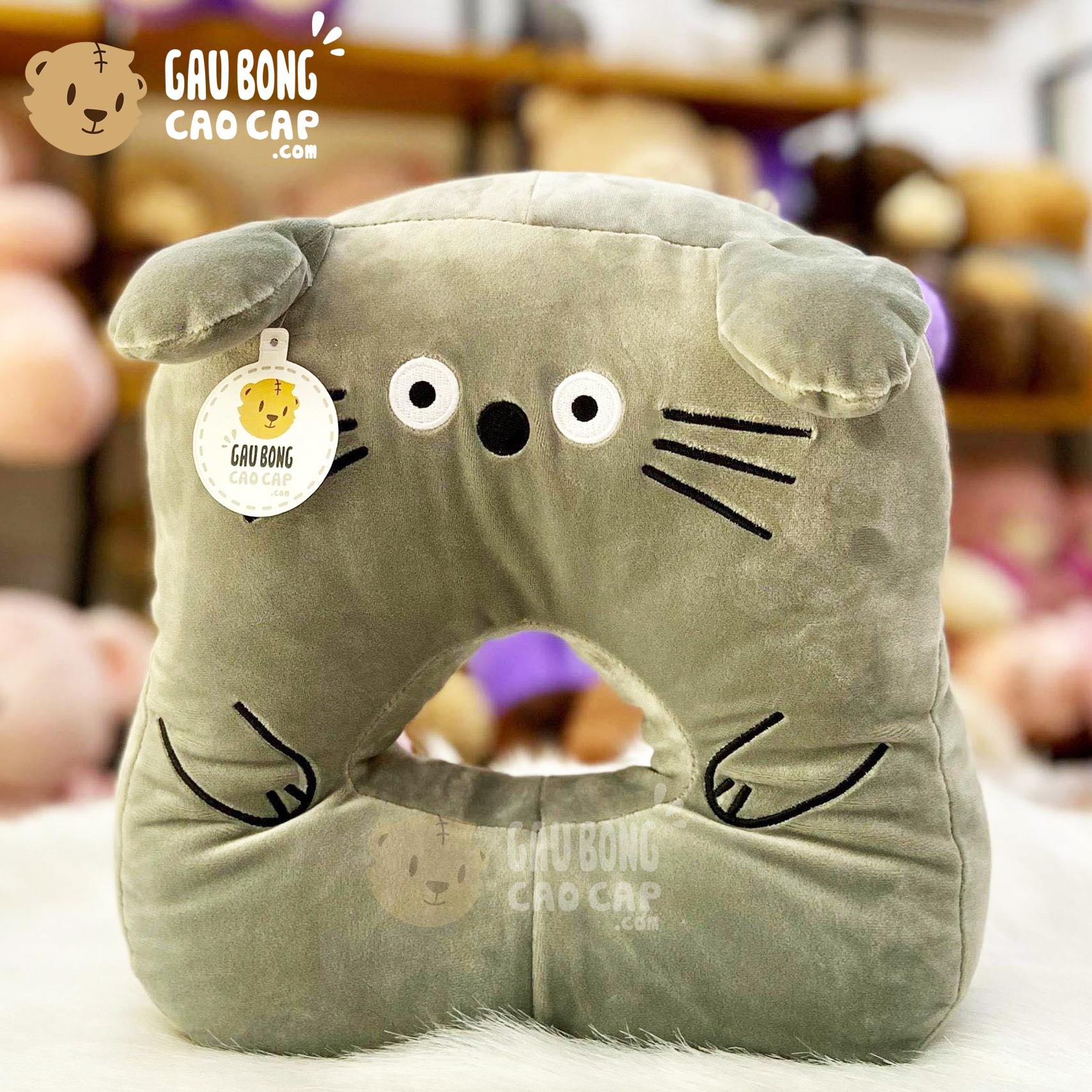 Gối ngủ úp mặt Totoro - Gối ngủ Văn Phòng