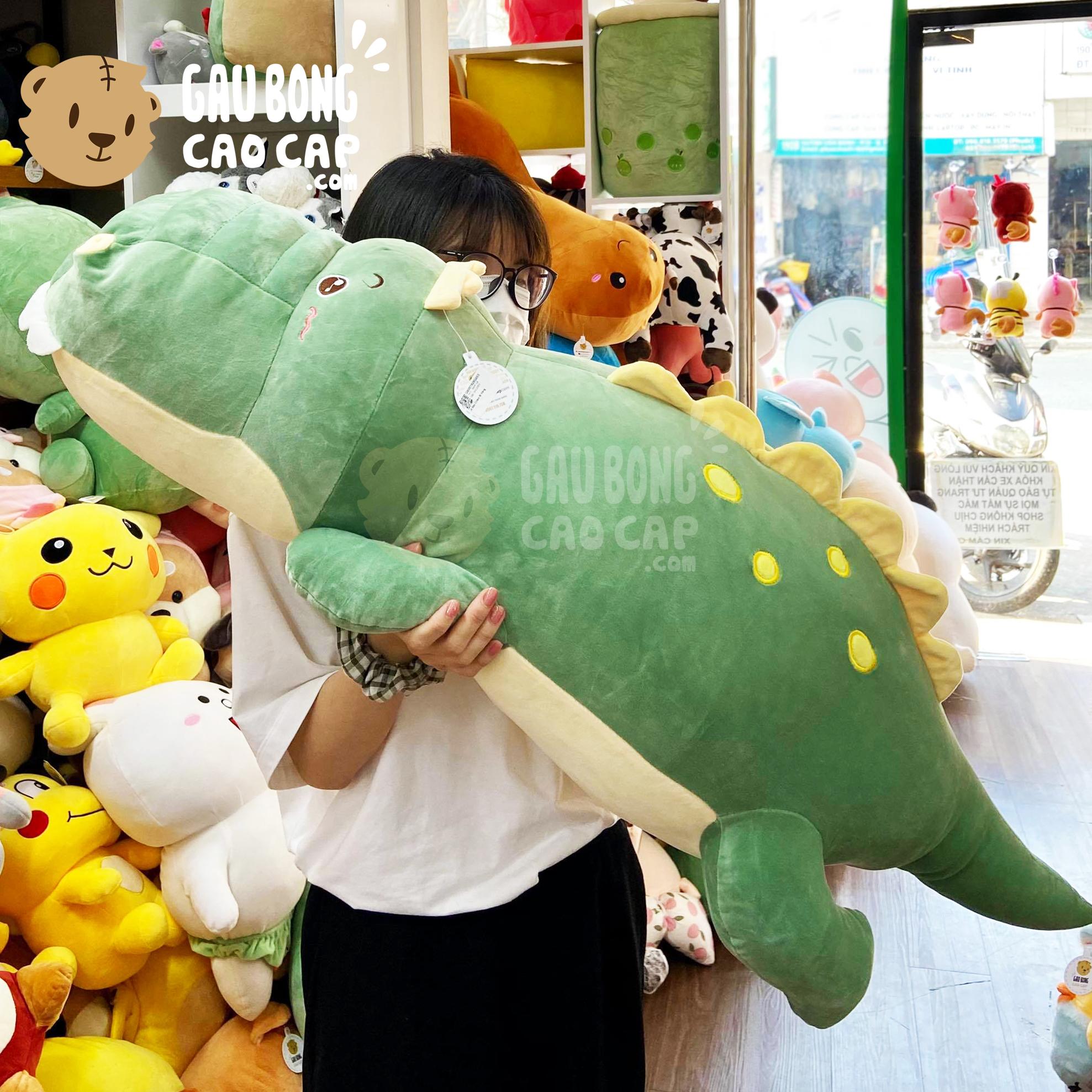 Cá Sấu Bông chấm Bi Vàng