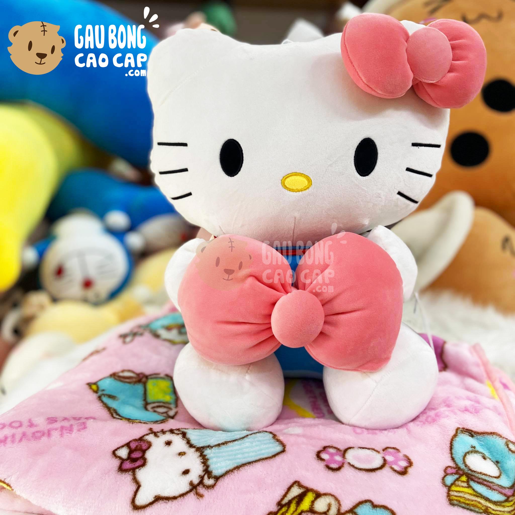 Gối mền Gấu Bông Hello Kitty