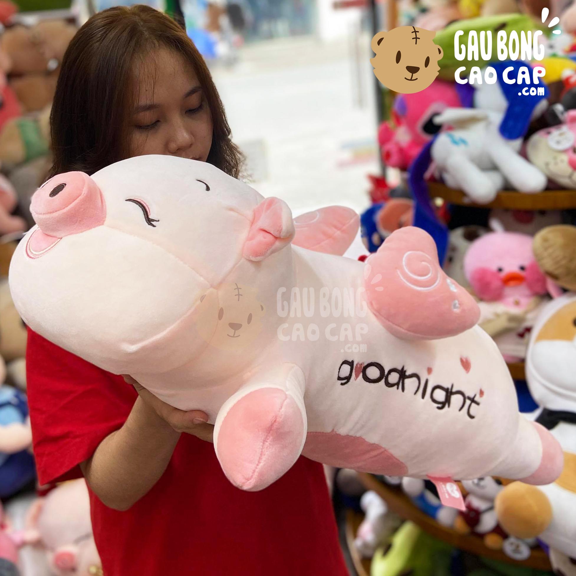 Heo Bông Good Night mặt cười có cánh
