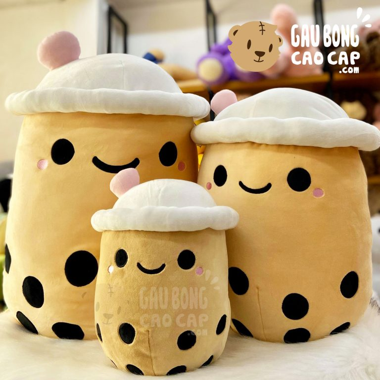 3 con gấu bông trà sữa cơ bản