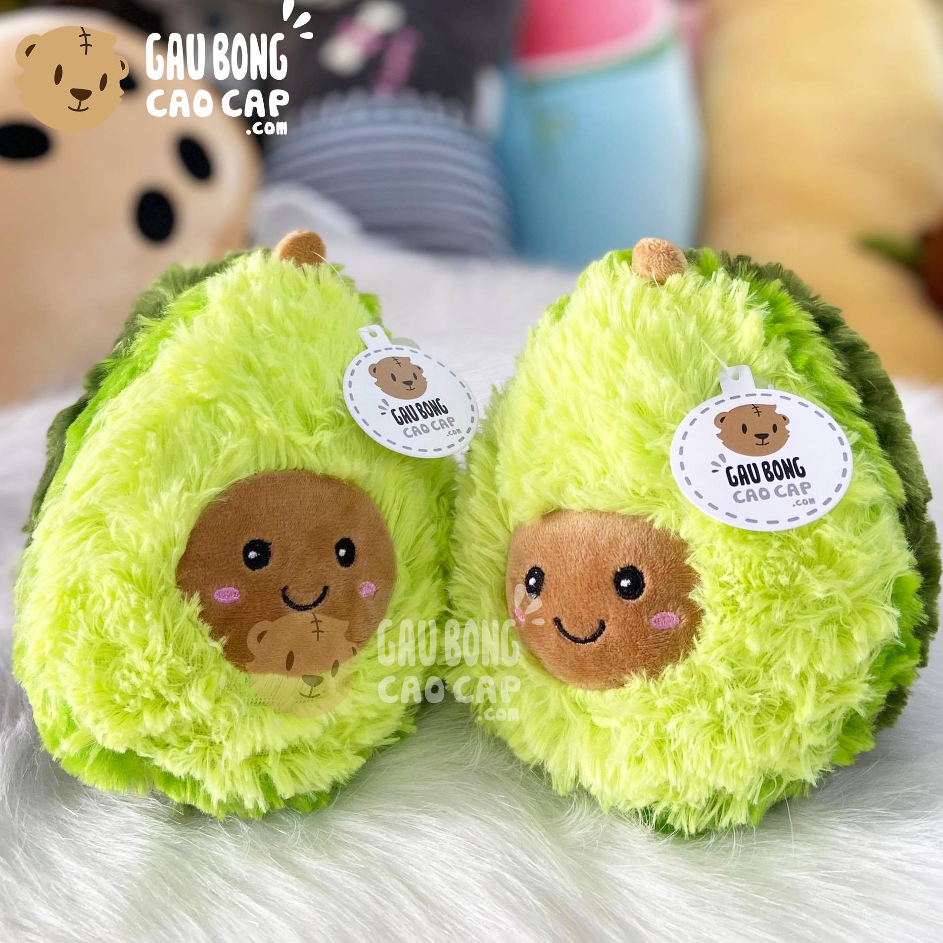 Gấu Bông Trái Bơ lông xù