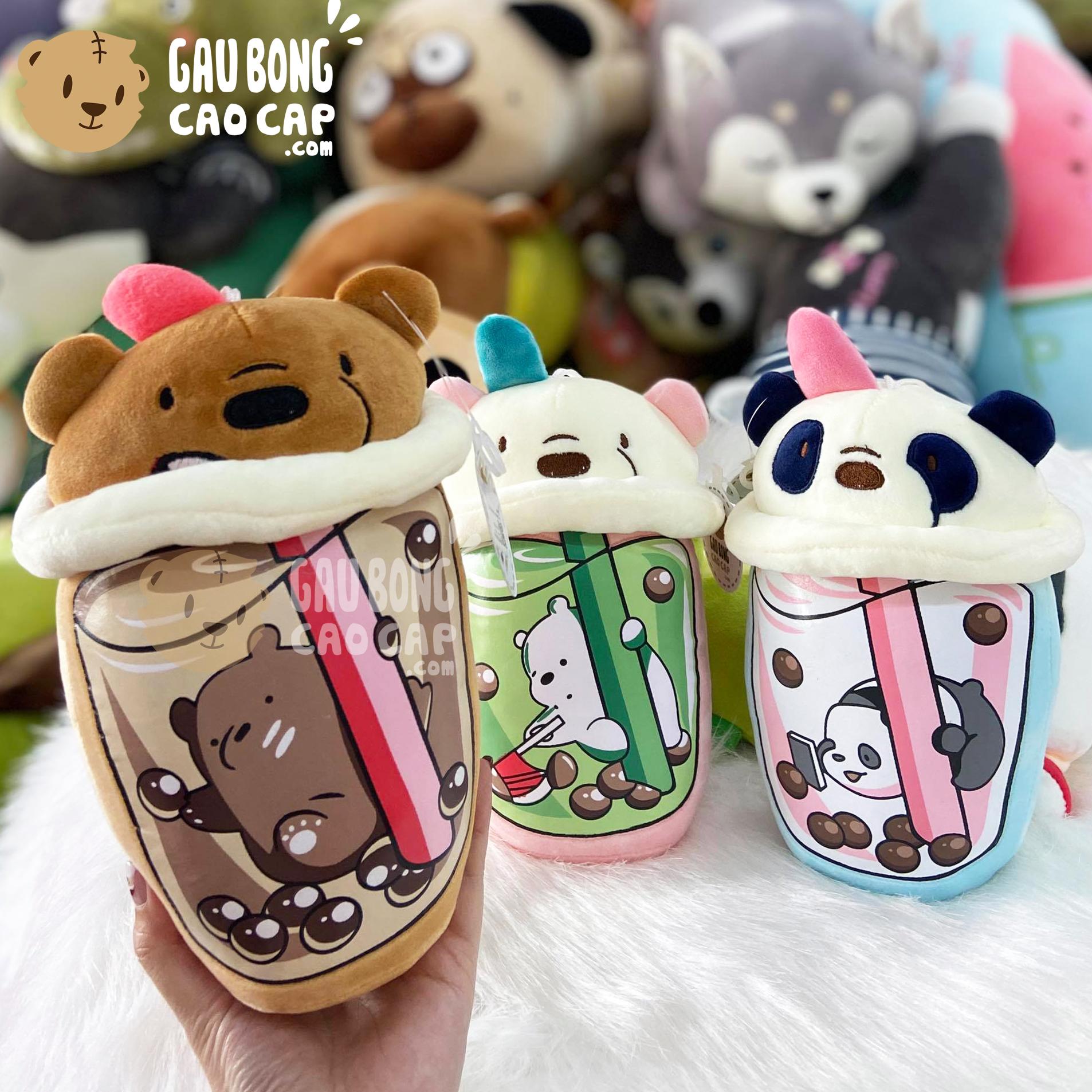 Gấu Bông Trà Sữa We Bare Bear