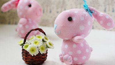 Hướng dẫn làm thỏ bông handmade cực yêu